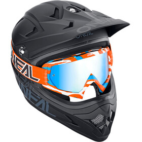 ONeal B-10 Goggle STREAM orange/blue-radium